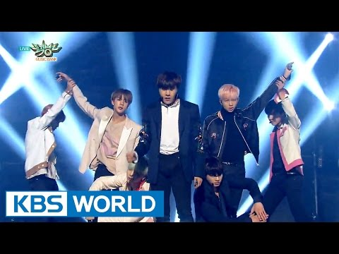 BTS (방탄소년단) - Run [Music Bank HOT Stage / 2015.12.18]