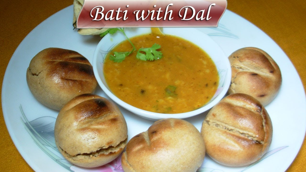 Dal bati recipe by sanjeev kapoor chekwiki bati with dal oven me kaise banaye rajasthani special you forumfinder Gallery