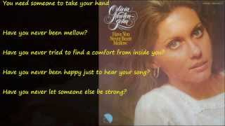 Have You Never Been Mellow (そよ風の誘惑) / OLIVIA NEWTON-JOHN