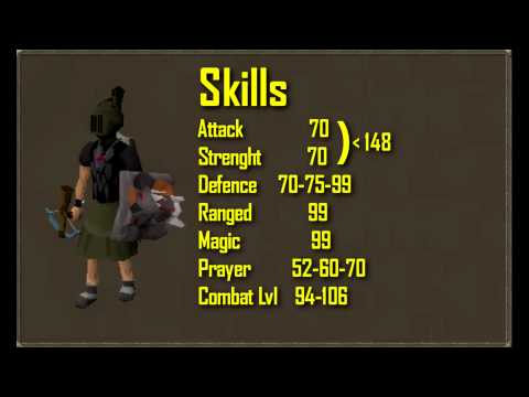 Old School Runescape Range tank guide! I No XP Wasted I