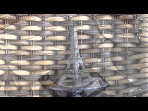 Metallic Puzzle - Eiffel tower - Metal Earth / Metal Works