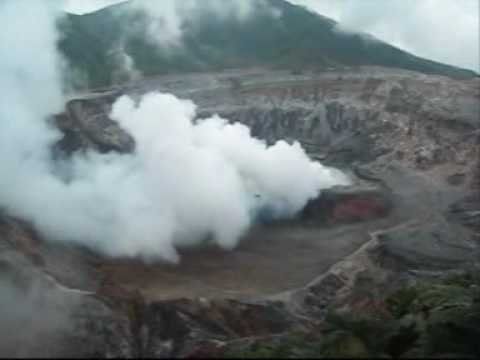 Poas Volcano Costa Rica.wmv