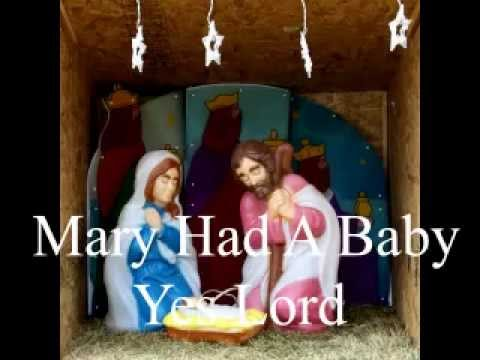 Mary Had A Baby (with lyrics) - traditional Arr.P.M.Adamson