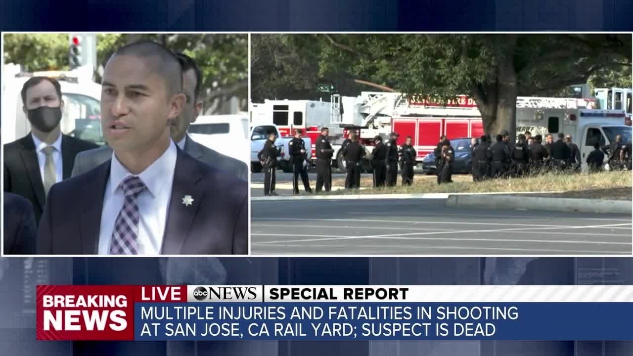San Jose: police say gunman was 'highly disgruntled' employee as ...
