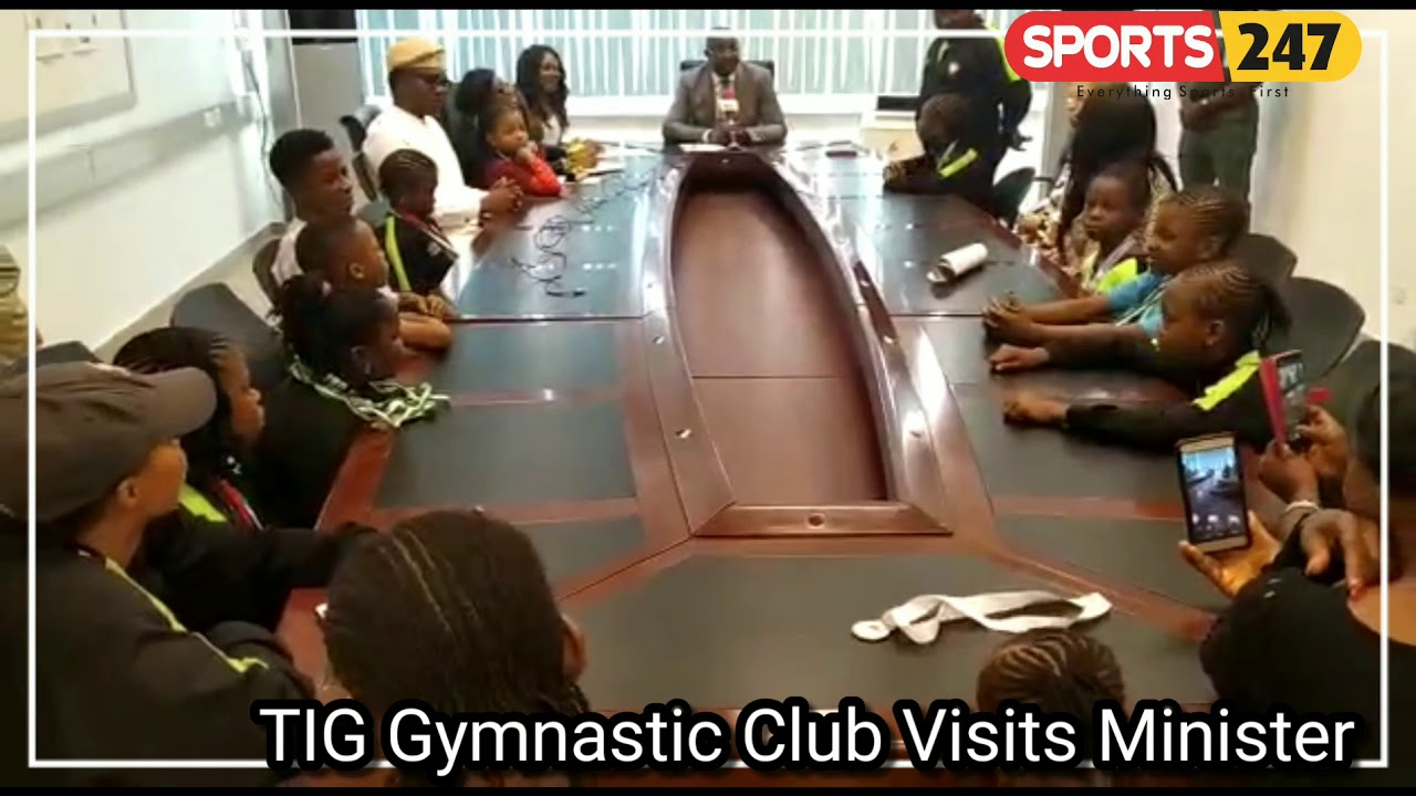 """Minister Calls For """"catch Them Young"""" Campaign To Develop Gymnastics"""