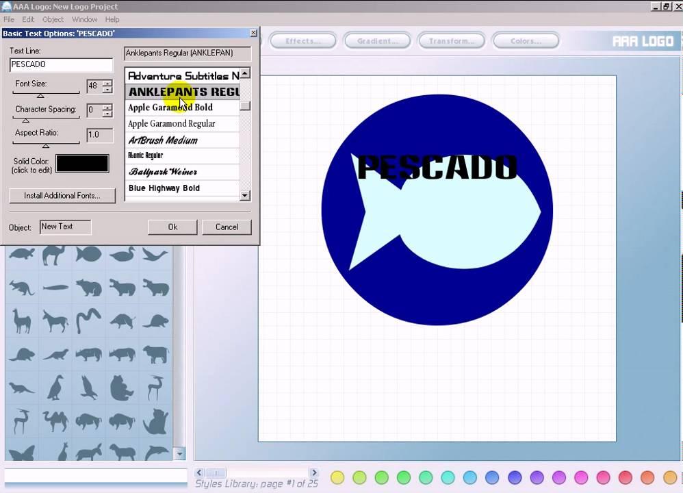 Programa para dise ar o crear logos youtube for Programa para disenar cocinas 3d online
