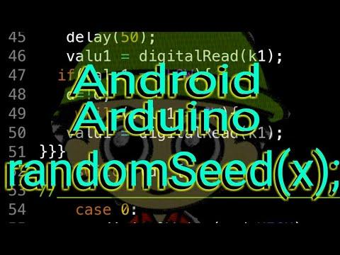Arduino#2 Random with Randomseed