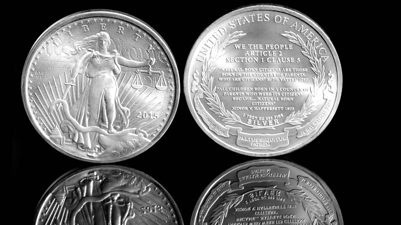 2015 Birther Commemorative Coin Release Youtube