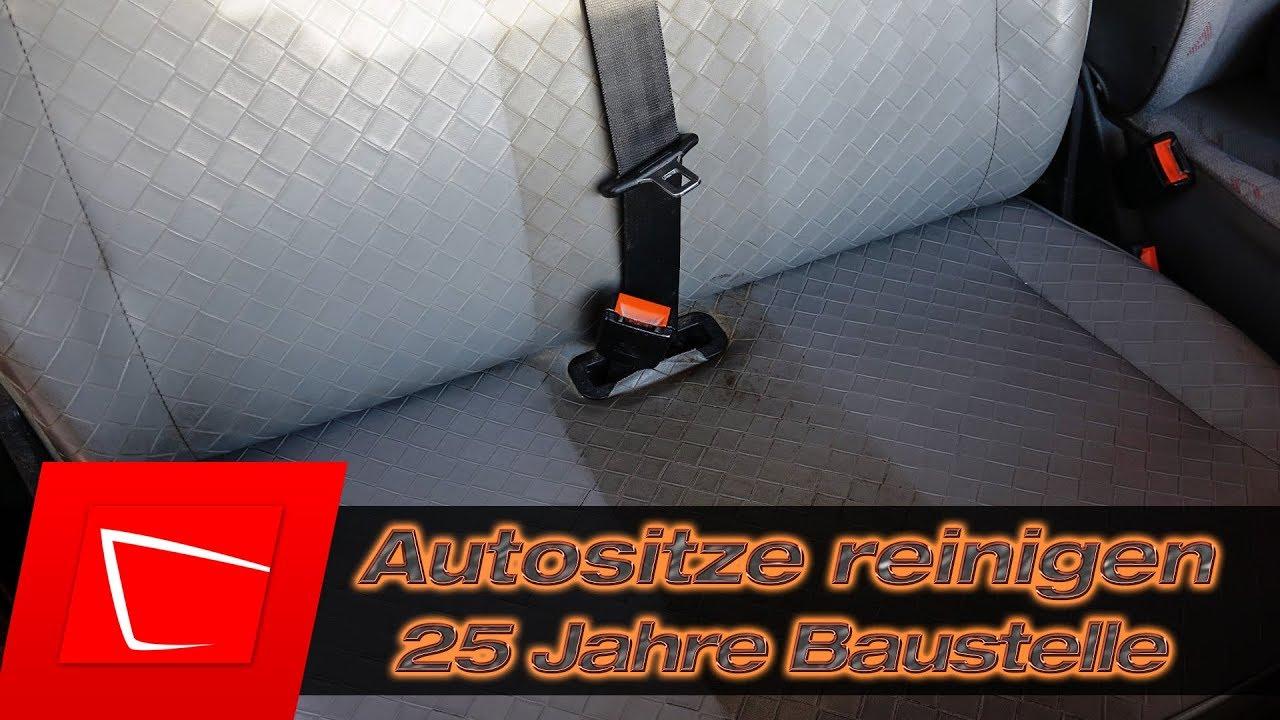 autositze reinigen 25 jahre ohne pflege fett und. Black Bedroom Furniture Sets. Home Design Ideas