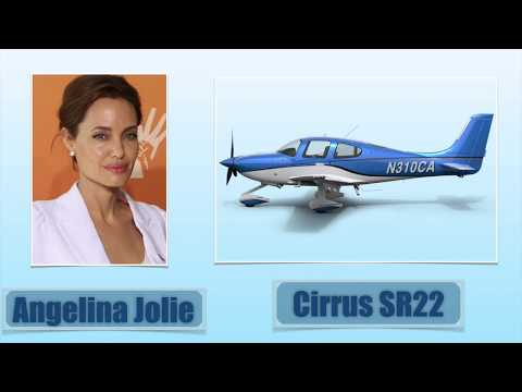 Top 10 Most Expensive Actors' Private Jets.