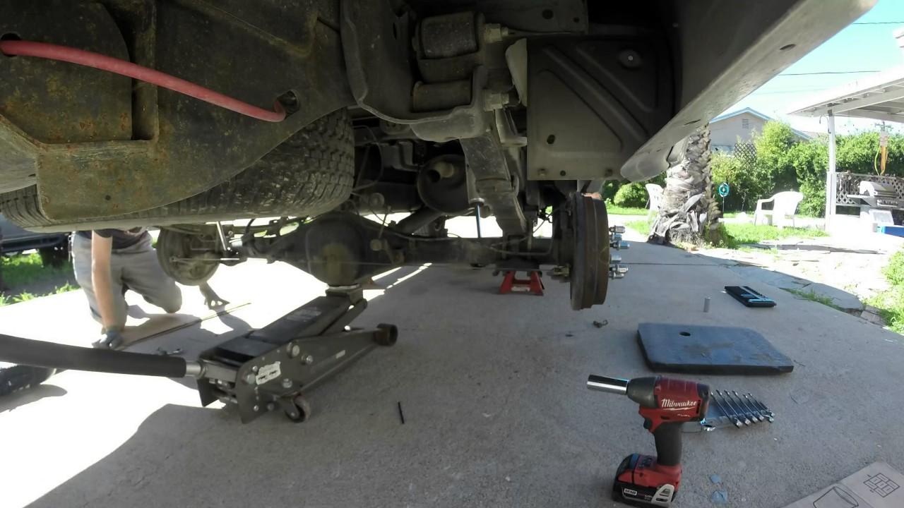 Deaver Leaf Springs >> Time lapse Deaver leaf spring install 2004 Toyota Tundra ...