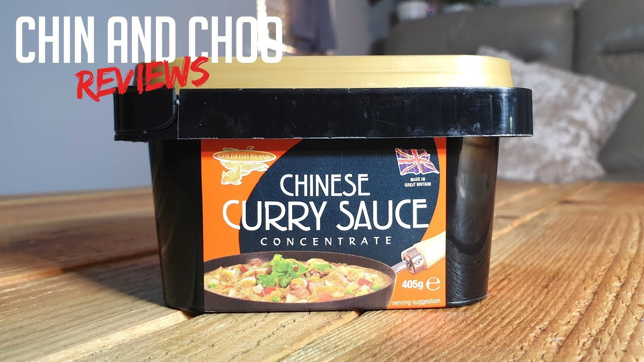 Goldfish Curry Sauce Review By Chin And Choo