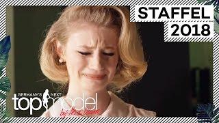 Blanke Nerven: Bei Trixis 60er Jahre Werbespot läuft alles schief | GNTM 2018 | ProSieben