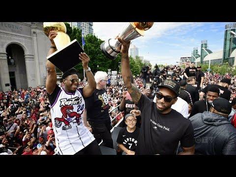 Historic Raptors victory celebration unites millions of fans