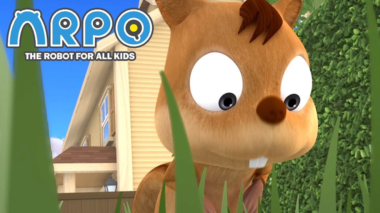 ARPO The Robot For All Kids | Squirrel Madness! | Full Episode Compilation | Cartoon for Kids