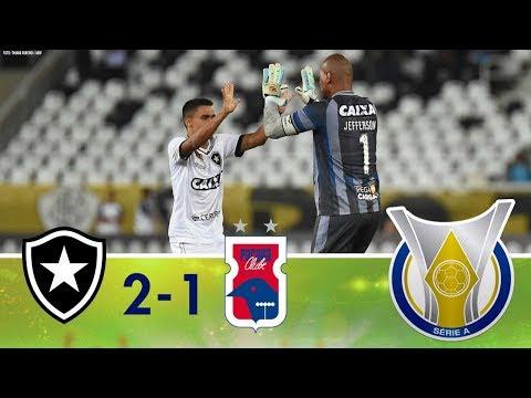 Melhores Momentos - Botafogo 2 x 1 Paraná - Campeonato Brasileiro (26/11/2018)