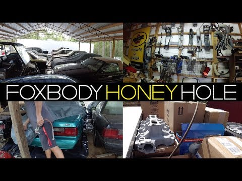WE HIT THE FOXBODY MOTHERLOAD! / AND THEY SHIP USED FOX PARTS