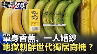 單身香蕉、一人婚紗 「地獄朝鮮」世代不生育的獨居商機!?關鍵時刻   20180905-5 馬西屏 黃世聰 黃創夏