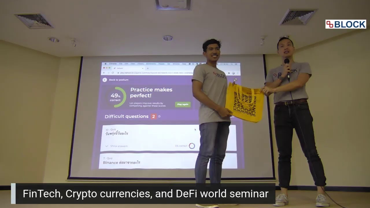 Fintech, Cypto currencies, and DeFi World Day 1 - Part 2