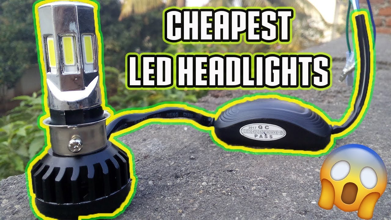 Best Brightest Led Headlights Bulb Ever Made For Motorcycles Youtube