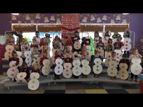 Tiny Tykes Academy Christmas Show 2020- 2nd Song Snowman Freeze