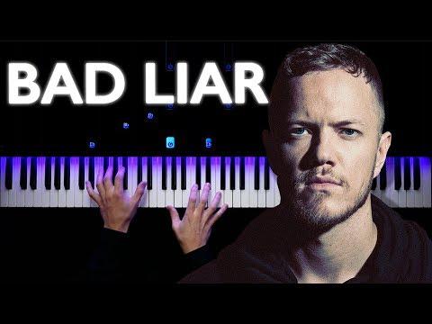 Imagine Dragons - Bad Liar   Piano tutorial   Synthesia