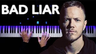 Imagine Dragons - Bad Liar | Piano tutorial | Synthesia
