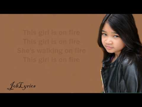 Girl on Fire [Lyrics] - Angelica Hale Cover