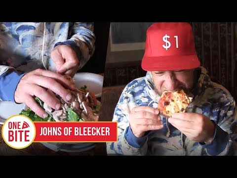 One Bite with Davey Pageviews - John's of Bleecker street