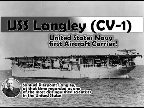 USS LAngley CV1