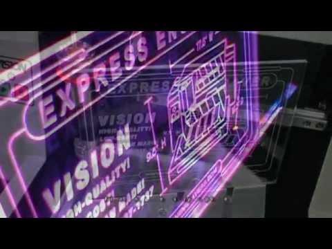 vision express engraving machine