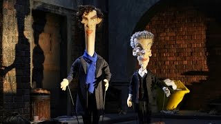 Sherlock & Doctor Who Crossover: The Writing Quality Falls - Newzoids Series 1 Resimi