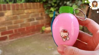 How to make a Airsoft Grenade with a Surprise Egg