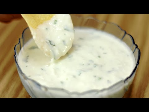 How To Make Yogurt And Cream Cheese Dip (Healthier Alternative For Mayo Dips)