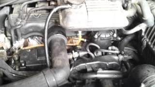 problème 806 2.1td bulles d'air calage