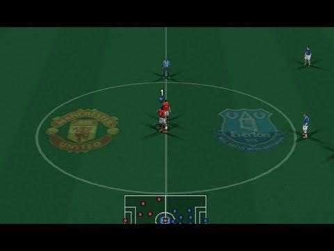 PES 2018 (PS2) Manchester United vs Everton - Premier League by Balls!
