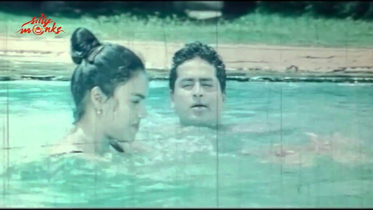 Kavitha Boy Friend Romance In Swimming Pool Ilamai Nila Movie Scene Youtube