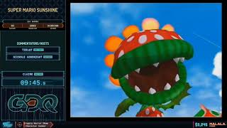 Super Mario Sunshine by Claire in 3:33:22 - Frost Fatales 2020