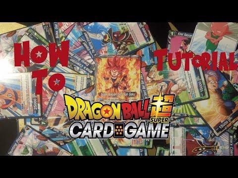WIE Spiele ich Es, Tutorial Dragon Ball Super Card Game | German thumbnail