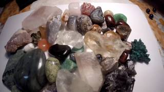 Обзор камней в моей коллекции