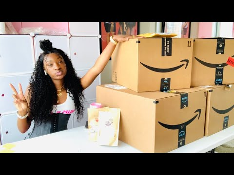 QUICK UNBOXING W/ BOUJEE BARBIEE | AMAZON PRIME IS BACK YAY!