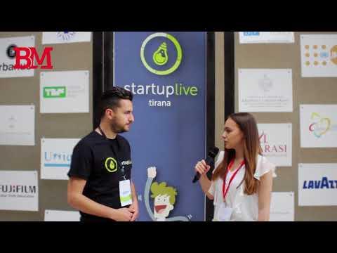 Startup Live Tirana 2017 - Intervistë me Indri Dyrmishin