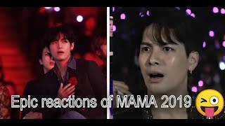 Epic reaction of idols to MAMA 2019