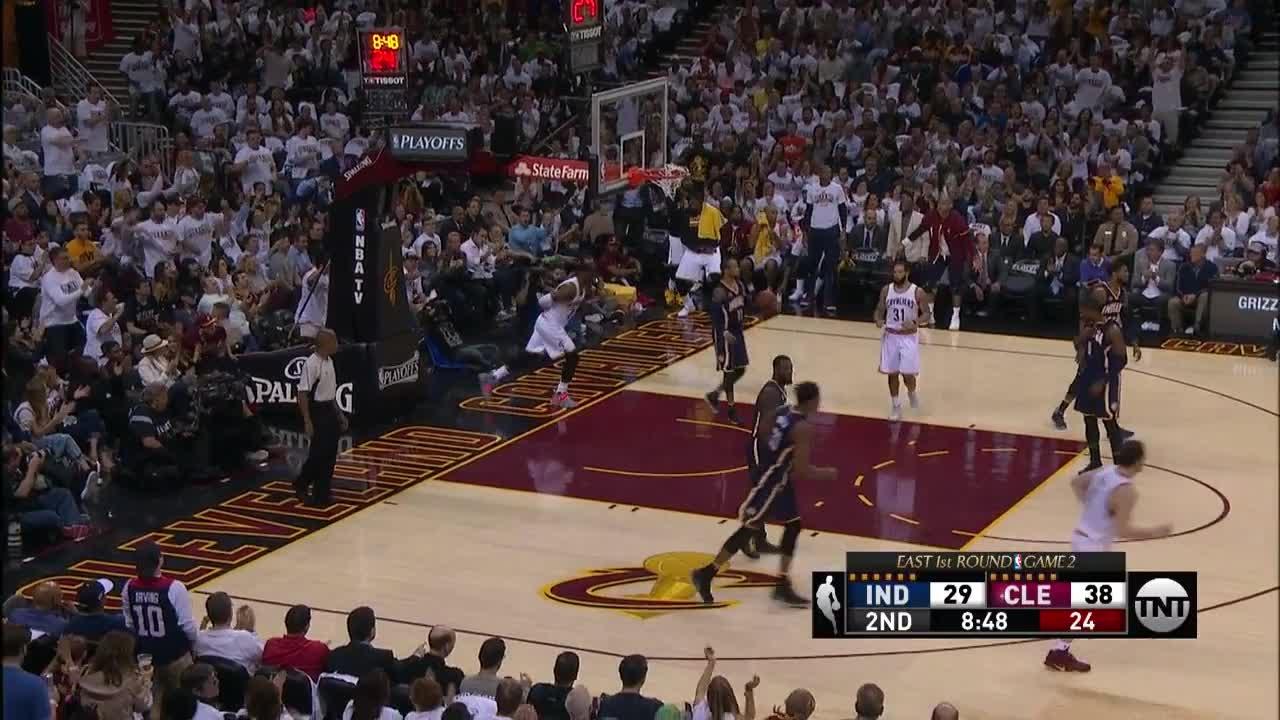 Quarter 2 One Box Video :Cavaliers Vs. Pacers, 4/17/2017 12:00:00 AM