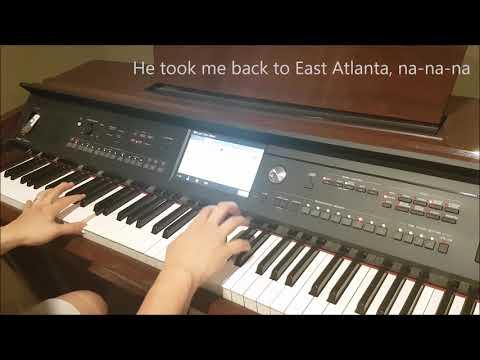 Camila Cabello - Havana - Piano Cover by Joe Ho (Keyboard Beats + Lyrics Cover)