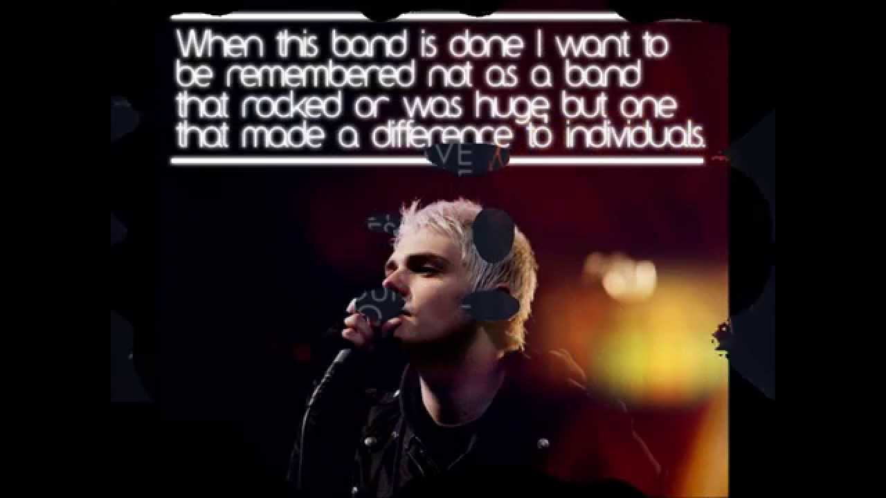 inspirational gerard way quotes youtube