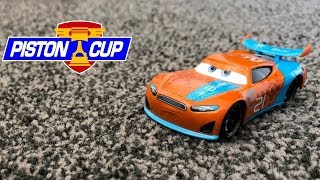 Mattel Disney Cars 3 2017 Ryan 'Inside' Laney #21 Blinkr Next-Gen Die-cast Review