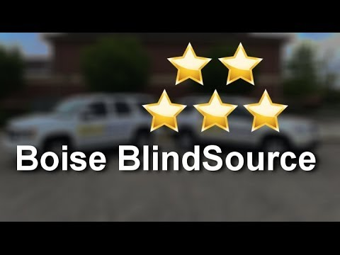 Boise Blind Source Meridian  Superb   5 Star Review by Gina