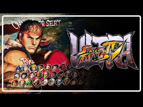 Ultra Street Fighter IV - Jogando com Ryu - Torneio Completo Gameplay