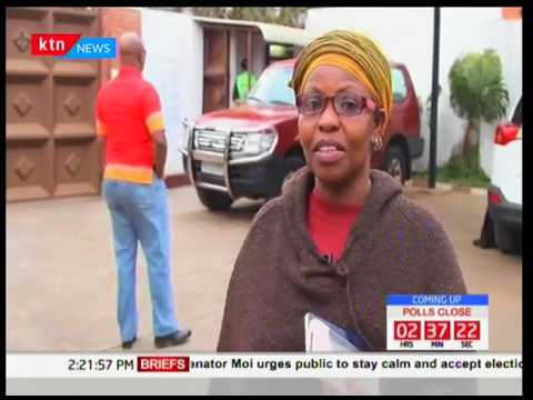 Kenyans living in Rwanda take part in the election process